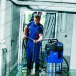 Máy hút bụi nước công nghiệp có khả năng hút cả bụi khô, ướt, chất lỏng hiệu quả