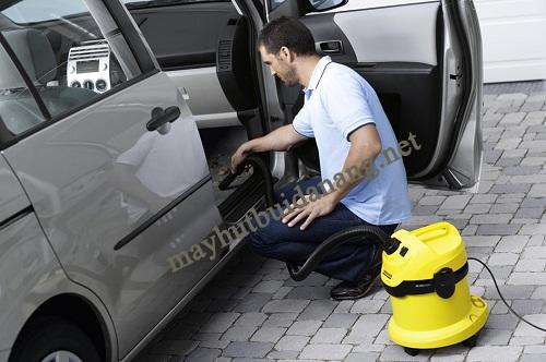 Máy hút bụi công nghiệp cho ô tô cần có thiết kế nhỏ gọn