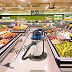 Máy hút bụi HiClean HC 40CE phù hợp để vệ sinh siêu thị