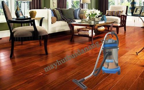 Sàn gỗ nên sử dụng máy hút bụi nhà xưởng có trọng lượng nhẹ
