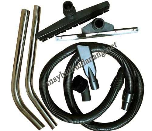 Bộ phụ kiện đóng vai trò quan trọng đối với hiệu quả vệ sinh của máy hút bụi công nghiệp