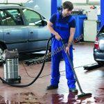 Các gara ô tô nên sử dụng máy hút bụi nhà xưởng để đảm bảo hiệu quả vệ sinh tối ưu