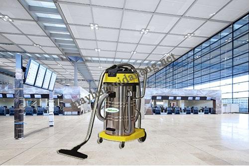 Máy hút bụi 80l phù hợp vệ sinh nhữn g không gian rộng