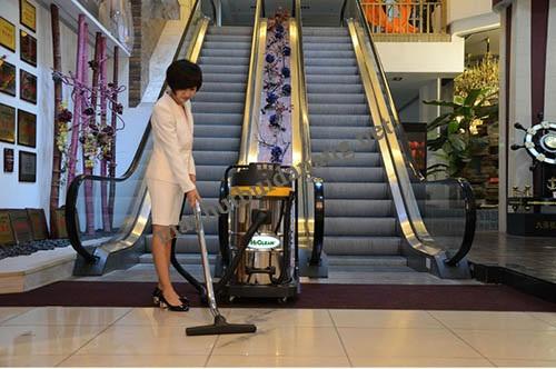 Sử dụng máy hút bụi nhà xưởng chính hãng giúp tiết kiệm thời gian, công sức dọn dẹp vệ sinh
