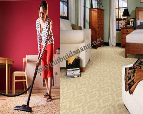 Gạt bỏ nỗi lo giặt thảm với máy hút bụi