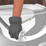 Sử dụng máy hút bụi công nghiệp cho việc thông tắc bồn cầu