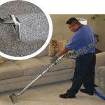 Máy giặt thảm phun hút được ứng dụng để giặt thảm, giặt ghế sofa,...