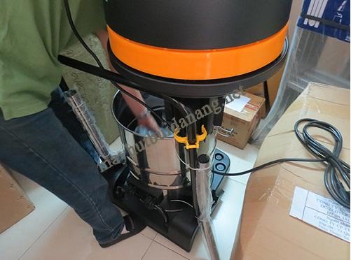 vệ sinh máy hút bụi công suất lớn