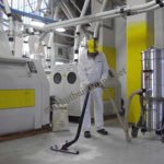 Máy hút bụi công nghiệp được sử dụng phổ biến trong các nhà xưởng