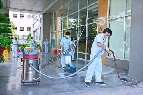 Máy hút bụi hút nước công nghiệp được ưa chuộng bởi sở hữu những ưu điểm vượt trội trong vệ sinh công nghiệp