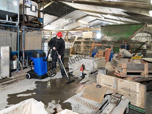 Sử dụng máy hút bụi công nghiệp đảm bảo hiệu quả vệ sinh tối ưu cho nhà máy xi măng