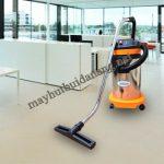 Sử dụng máy hút bụi công nghiệp HiClean HC 30 cho công việc vệ sinh văn phòng