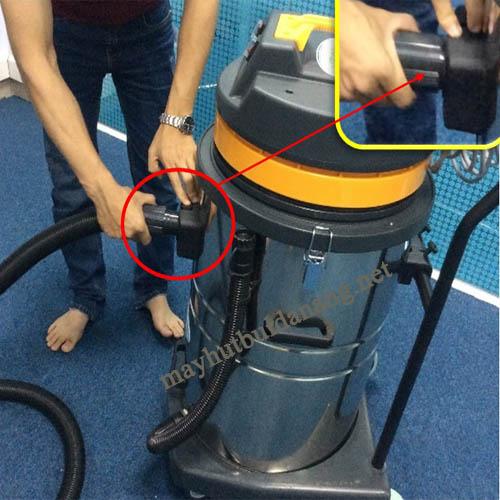 Lắp phụ kiện máy hút bụi và sử dụng đúng cách