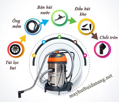 Sử dụng phụ kiện máy hút bụi công nghiệp như thế nào để hiệu quả
