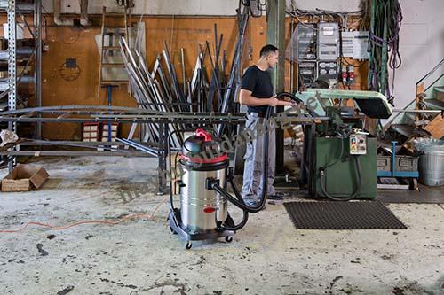 Người tiêu dùng nên chú ý tới vật liệu cấu thành máy khi chọn mua máy hút bụi công nghiệp