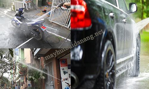 Máy xịt rửa xe là thiết bị có khả năng xịt rửa mạnh mẽ