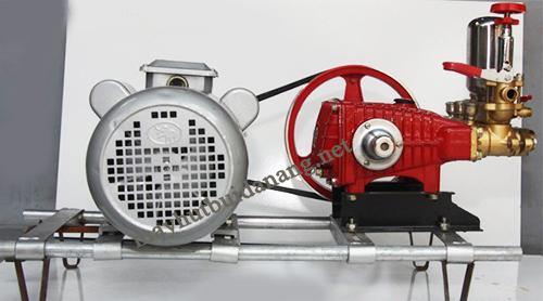 Mô tơ là bộ phận quan trọng nhất của máy rửa xe