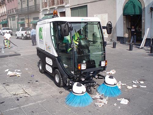 xe quét rác đường phố là một sự lựa chọn của các thành phố lớn