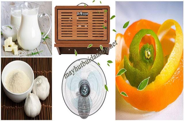 Để tổng vệ sinh nhà sau xây dựng nhanh, hiệu quả bạn cũng có thể dùng nguyên liệu khử mùi