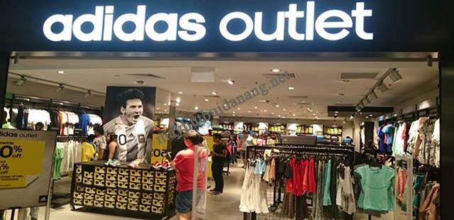 Hình ảnh của một cửa hàng adidas outlet