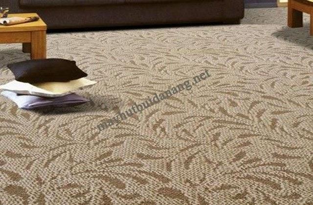 Không nên sử dụng máy giặt với thảm cotton khi giặt thảm tại nhà