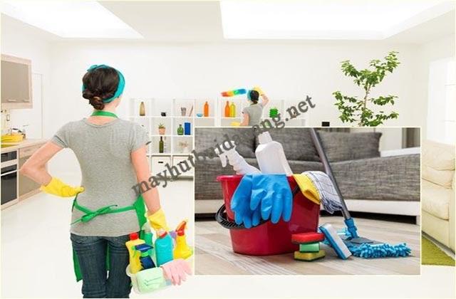 Hãy áp dụng một quy trình dọn vệ sinh chuyên nghiệp giúp bạn tiết kiệm thời gian