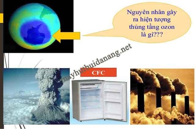 Chất CFC là nguyên nhân gây ra hiện tượng thủng tầng ozon và ô nhiễm khí quyển hiện nay