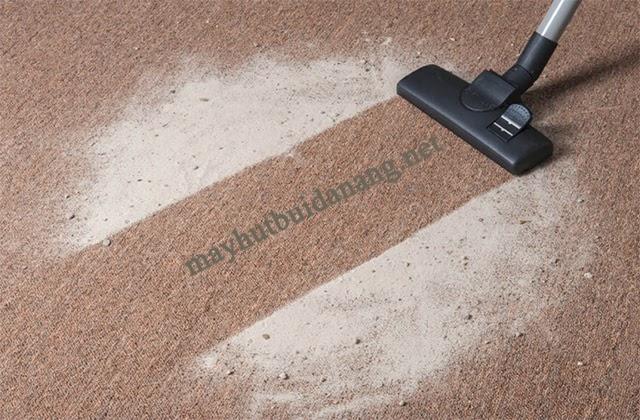 Giặt thảm khô sẽ tiết kiệm thời gian vì không cần sử dụng đến nước