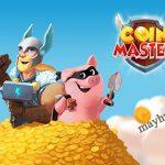 Spin trong coin master là vòng quay may mắn để người chơi có được các vật phẩm như vàng, khiên...