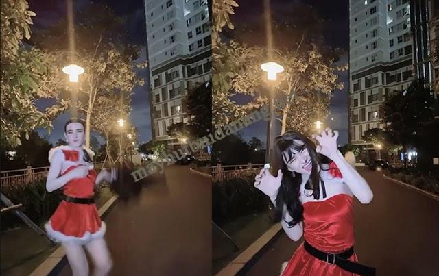 Trần Đức Bo trong bộ ảnh dịp Noel