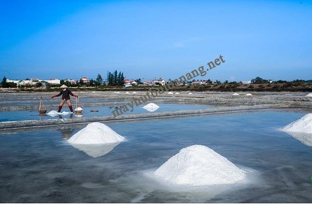 Sản xuất muối là một ứng dụng quan trọng của hiện tượng này