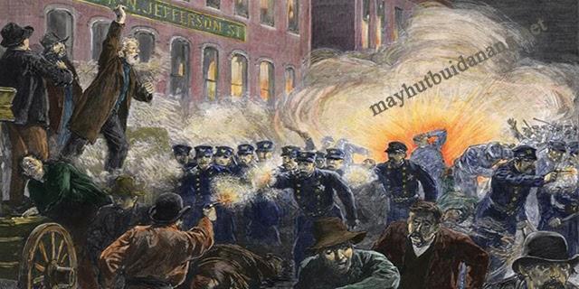 Thảm sát Haymarket năm 1886 tại Chicago, Mỹ