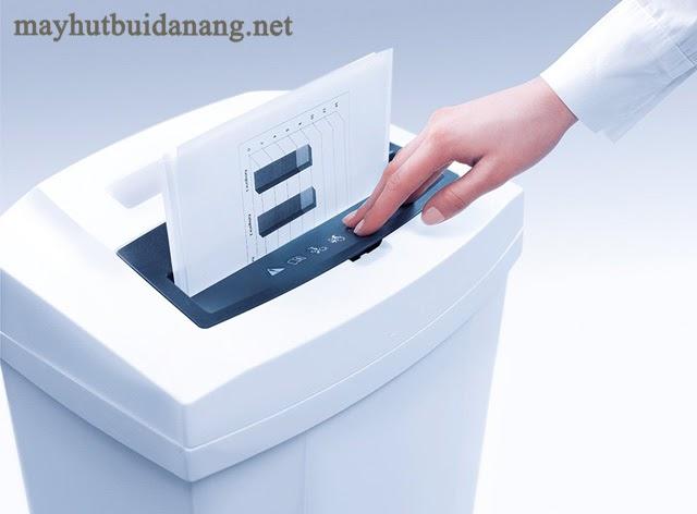 Cách sử dụng của máy huỷ tài liệu văn phòng rất dễ dàng