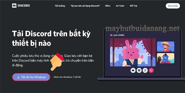 Tải ứng dụng Discord từ website