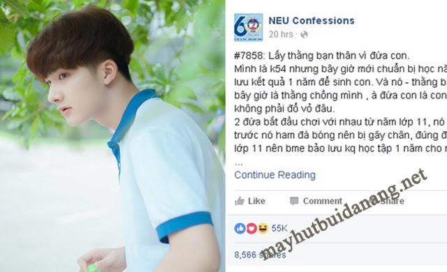 Drama trên NEU Confessions