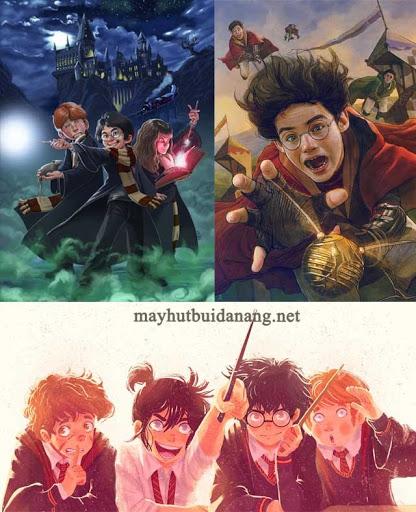 Một số bức fanart đẹp của Harry Potter. Nguồn: Sưu tầm