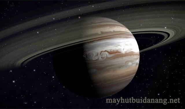 Sao Mộc có vành đai nhưng rất khó nhìn