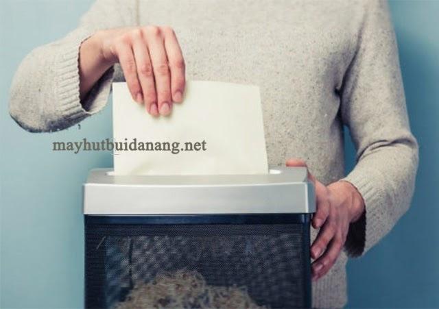 Máy huỷ giấy mini phù hợp sử dụng nhu cầu huỷ tài liệu thấp