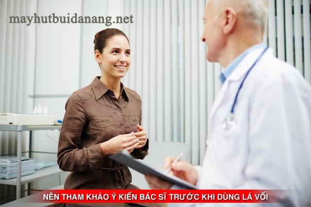 Nên tham khảo ý kiến của bác sĩ trước khi sử dụng lá vôi cho bất cứ mục địch chữa bệnh nào