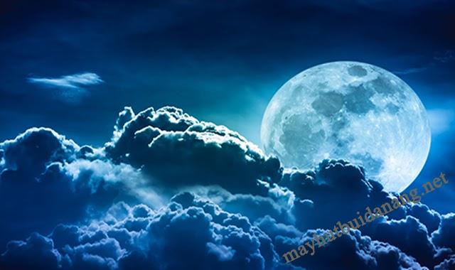 Chiêm ngưỡng vẻ đẹp của hiện tượng mặt trăng xanh