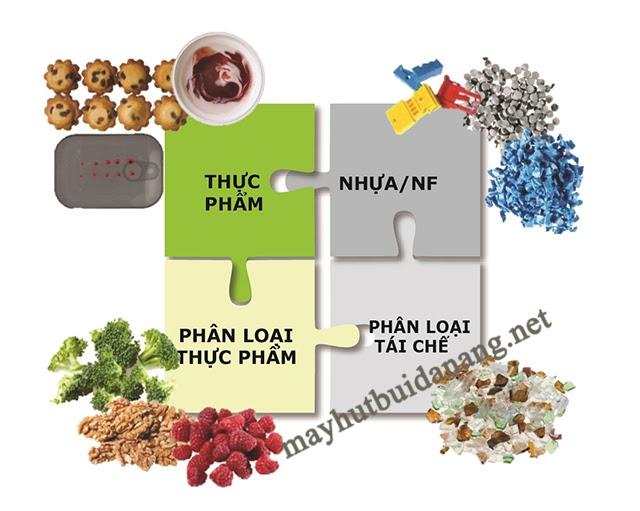 Máy dò kim loại thực phẩm cho khả năng phát hiện tạp chất đa dạng