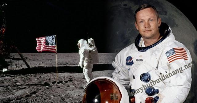 Neil Armstrong, người Trái Đất đầu tiên đặt chân lên Mặt Trăng