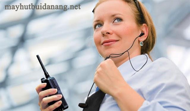 Máy bộ đàm có chức năng truyền tín hiệu cực tốt
