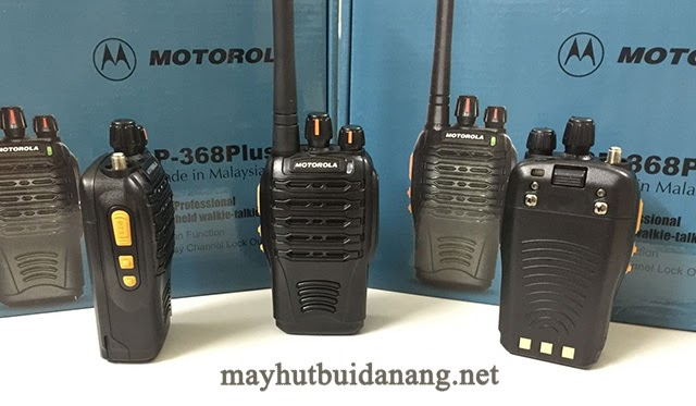 Bộ đàm Motorola GP368 có thiết kế hiện đại