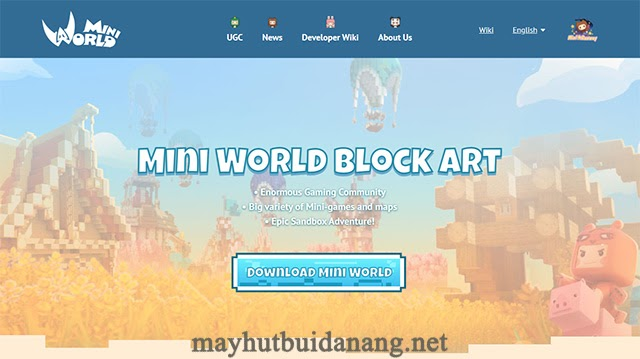 Download Mini World Block Art dễ dàng trên máy tính
