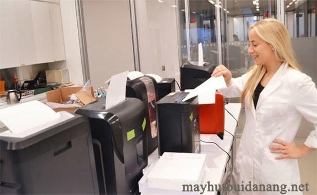 Phân loại máy huỷ giấy dựa vào công suất