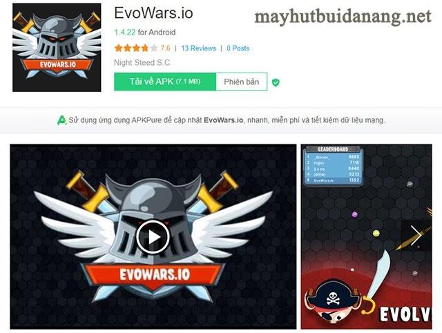 Cách tải Evowars io PC